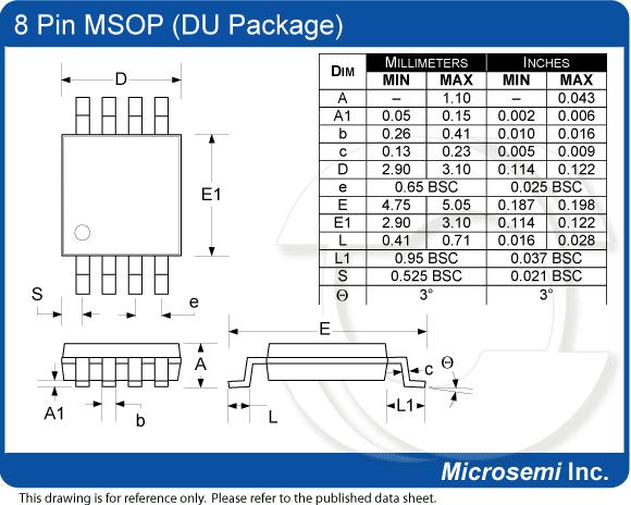 Adapter SMD - DIP dla układów z liczbą wyprowadzeń 8